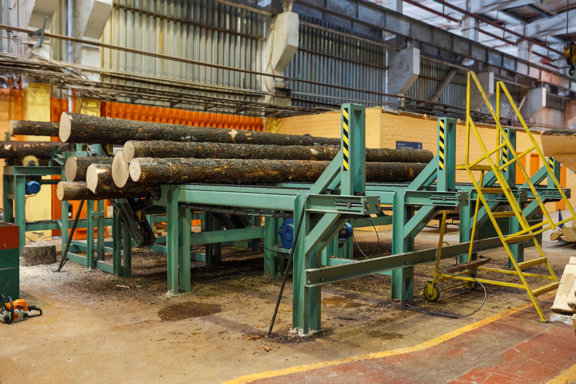 Механизация лесопильного оборудования