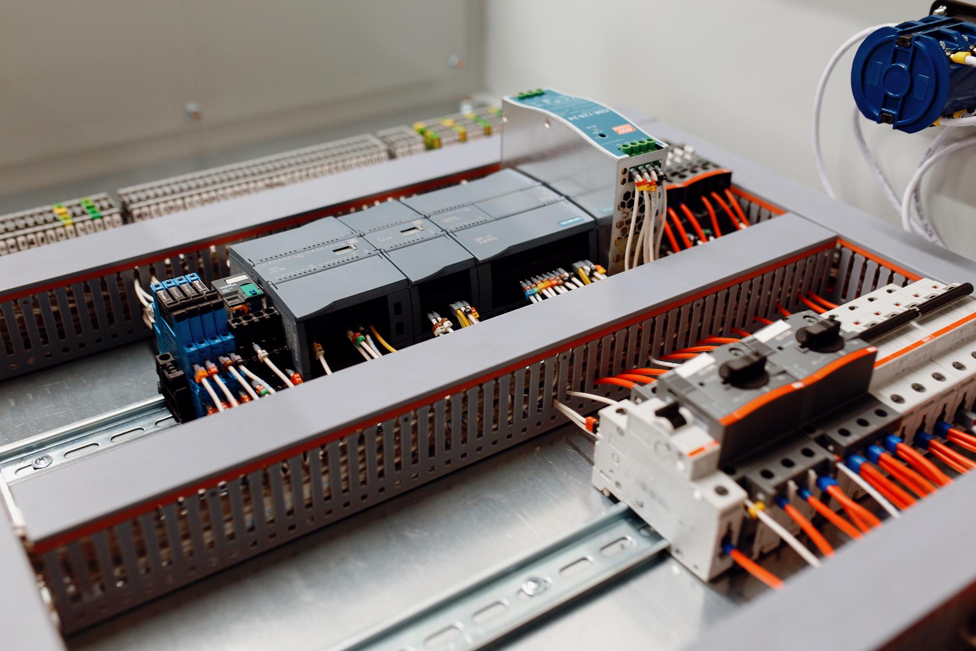 Equipment control cabinets